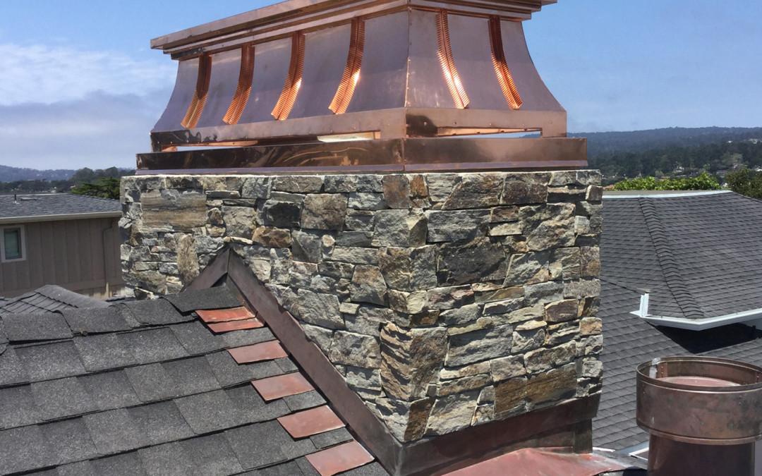 Marbella Stone Chimney