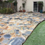 Yosemite Slate Stone Patio. Murrer Construction, Patios, Recent Work,  Residential Construction