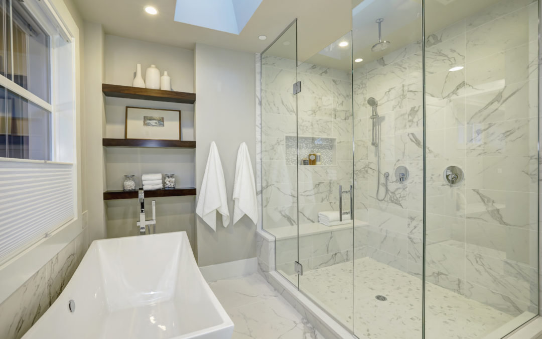 Marble Master Bath Remodel