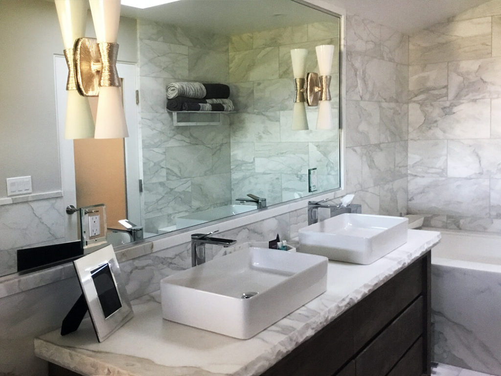 calacatta-marble-bathroom - Murrer Construction
