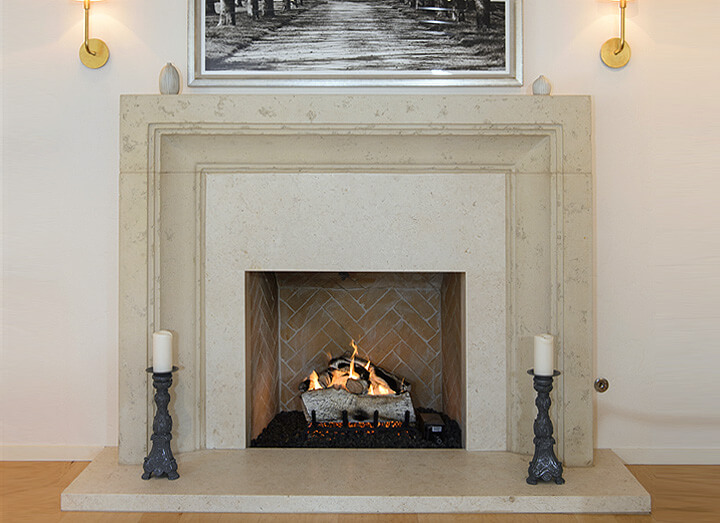 Carmel Remodel Including Giada Italian Fireplace